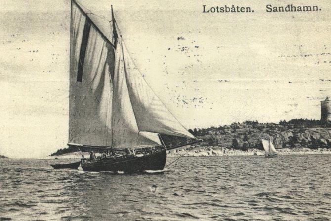 Sandhamns historia