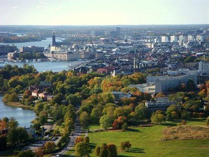 City centre, Skeppsholmen and Djurgården islands
