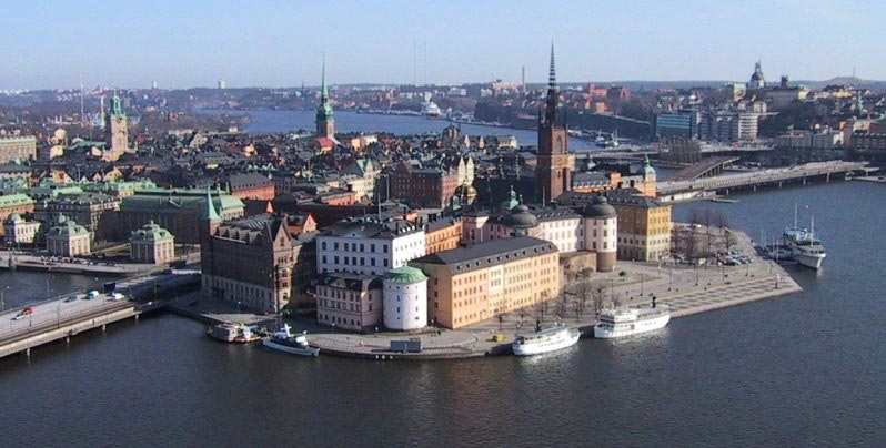 Old Town, Riddarholmen and Södermalm