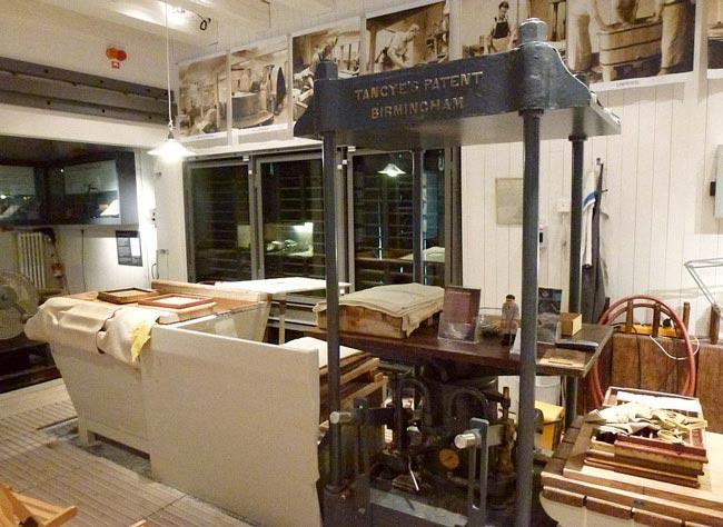 Tumba papermill museum