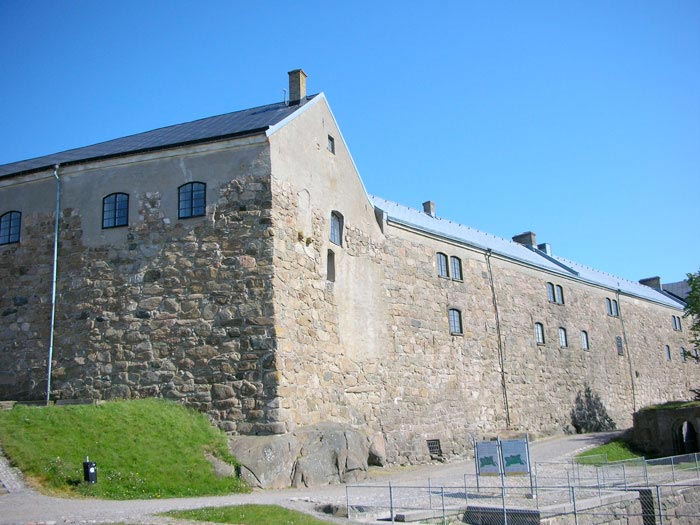 Halland cultural museum and the Varberg fortress