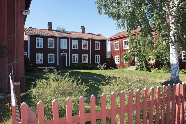 Världsarvsgården Gästgivars i Vallsta