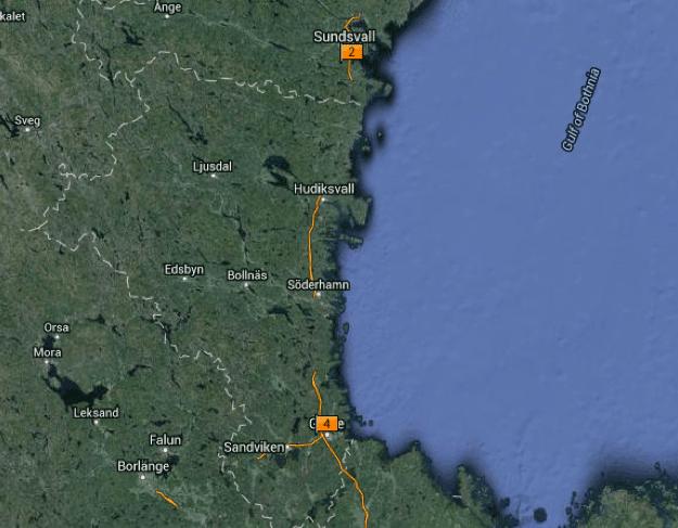 Arbetslivsmuseer -Gästrik-, Hälsingland & Medelpad